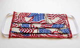 American Flag Face Masks.  Buy at Raspberry Lane Crafts