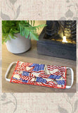 Grocery Store Face Mask - American Flag