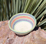 Find mini baskets hand-crafted at Raspberry Lane Crafts Aqua Rainbow