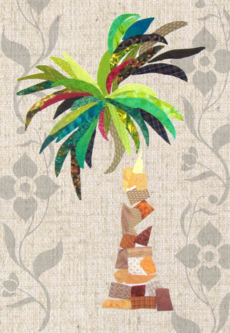 Banana Palm Applique Sewing Pattern