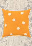 Orange Dot Spotted Throw Pillows Decorative Buy Purchase for Sale batman rig Forrestal chamber