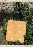 Beach Orange Dot Tote Bags for Sale at Raspberry Lane Crafts