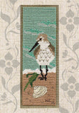 Buy Beach Bird Sandpiper by Water Cross Stitch Bookmark Pattern Find for Sale