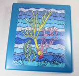 Coral Island Three-Ring Binder