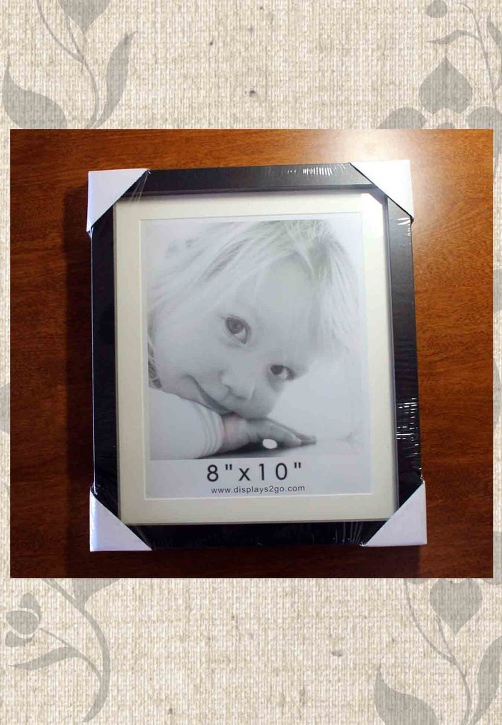 Black 8 x 10 inch Picture Frame for Sale.  Great High Quality at Raspberry Lane Crafts