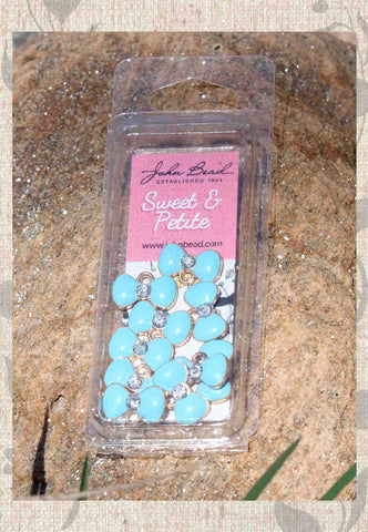 Light Blue Bow Charms