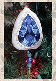 Buy Blue Saffire Cross Stitch Pattern featured in Jewel Ornaments Cross Stitch Pattern at Raspberry Lane Crafts.  Buy Purchase for Sale