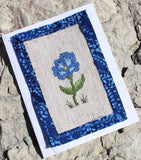 Buy Blue morning glory cross stitch pattern from Raspberry Lane Crafts designed by Wendy Christine.  Part of the Antique Flower Collection.