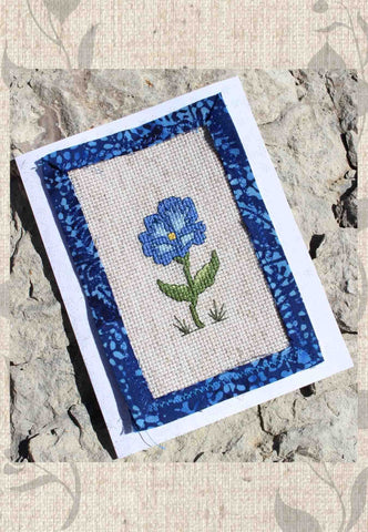 Antique Flower Collection Cross Stitch Pattern