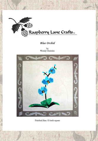 Blue Orchid Quilt Pattern Download