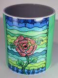 Blue Stone Mug available to purchase at Raspberry Lane Crafts