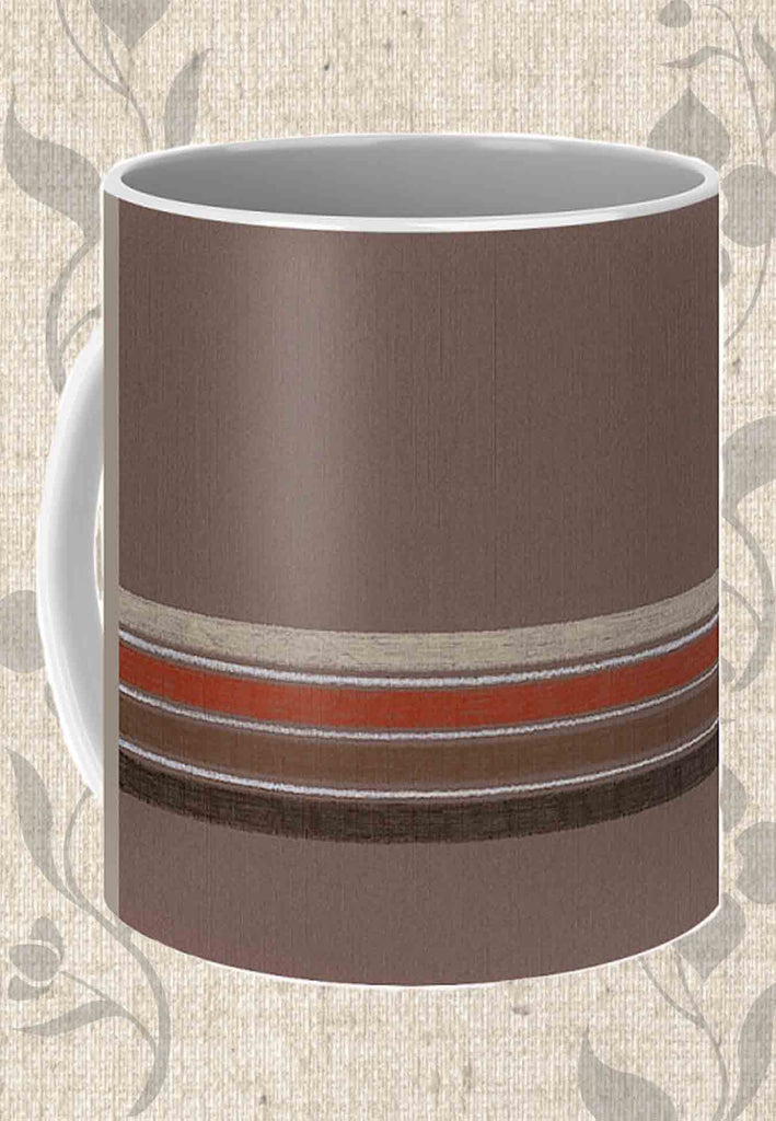 Buy Brown Stripe Coffee Mugs at Raspberry Lane Crafts.  The Art of Wendy Christine.  Find Purchase