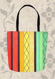 Cabana Multi-Color Striped Tote Bags for Sale by Wendy Christine