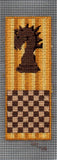 Buy chess cross stitch pattern for bookmarks at Raspberry Lane Crafts.  Use perforated paper or Aida cross stitch fabric.