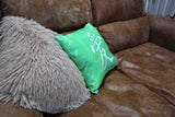 Green Decorative Throw Pillows for Sale at Raspberry Lane Crafts.