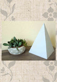 Buy Gray Paper Pyramid Sacred Geometry Home Decorating at Raspberry Lane Crafts