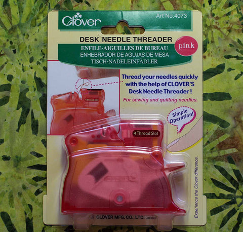Clover Needle Threader - Pink