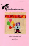 Buy clown quilt block pattern at Raspberry Lane Crafts by Wendy Christine