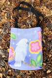 Purple Parrot Tote Bag for Sale at Raspberry Lane Crafts
