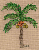 Tropical Palms Cross Stitch Pattern Gift Set