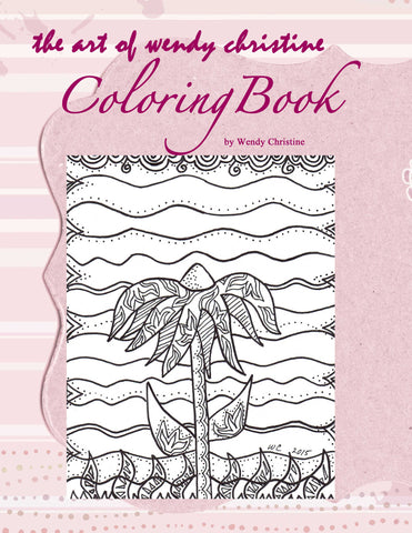 The Art of Wendy Christine Coloring Book