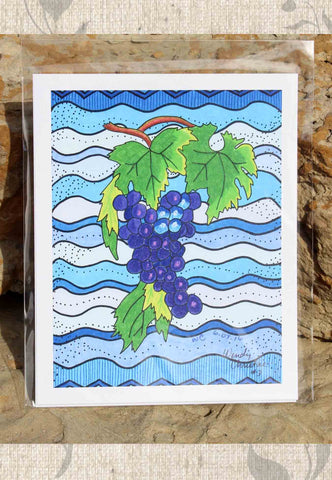 Concordia Grapes Artwork