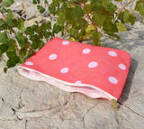 Coral Reef Dot Zipper Bags for Sale from The Art of Wendy Christine Purchase Buy Find