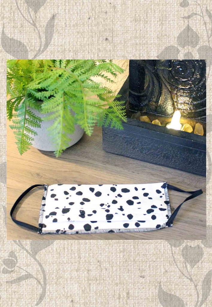 Cow Spot Face Masks for Sale at Raspberry Lane Crafts