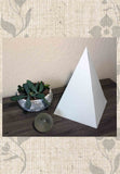 Buy Cream Paper Pyramid Decoration Sacred Geometry for Sale at Raspberry Lane Crafts