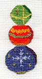 Crystal Balls Gothic Ornaments Cross Stitch Pattern