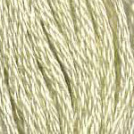 Buy DMC six-stranded embroidery floss - 10 - Very Light Tender Green