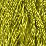 Buy DMC 166 - Medium Light Moss Green six-stranded embroidery floss at Raspberry Lane Crafts