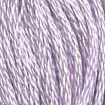 Buy DMC six-stranded embroidery floss - 25 - Ultra Light Lavender