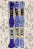 DMC six-stranded embroidery floss - 333, 340, 341 Blue Violets for Sale Buy Find
