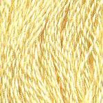 Buy DMC 3078 - Golden Yellow - Very Light six stranded embroidery floss at Raspberry Lane Crafts for Sale