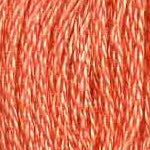 Buy DMC 352 - Coral - Light six stranded embroidery floss for sale at Raspberry Lane Crafts
