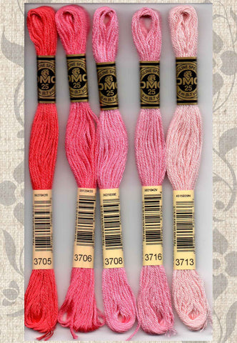 DMC embroidery floss - 3700 series