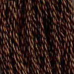 Buy DMC 3781 - Dark Mocha Brown six stranded embroidery floss at Raspberry Lane Crafts