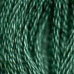 Buy DMC 3815 - Dark Celadon Green six-stranded embroidery floss at Raspberry Lane Crafts