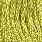 Buy DMC 3819 - Light Moss Green six-stranded embroidery floss at Raspberry Lane Crafts