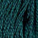 Buy DMC 3847 - Dark Teal Green six-stranded embroidery floss at Raspberry Lane Crafts