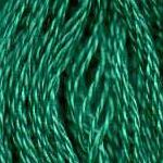 Buy DMC 3850 - Dark Bright Green six-stranded embroidery floss at Raspberry Lane Crafts