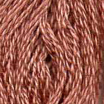 DMC six-stranded embroidery floss - 407 - Desert Sand - Dark