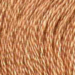 DMC six-stranded embroidery floss - 437 - Tan - Light