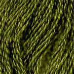 Buy DMC six-stranded embroidery floss - 580 - Moss Green - Dark