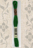 Buy DMC six-stranded embroidery floss - 699 green