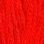 Buy DMC six-stranded embroidery floss - 606 - Bright Orange Red
