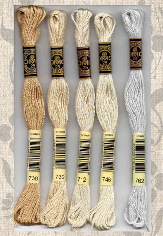 DMC embroidery floss - 700 series