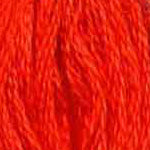 Buy DMC six-stranded embroidery floss - 947 - Burnt Orange