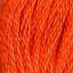 Buy DMC six-stranded embroidery floss - 971 - Pumpkin
